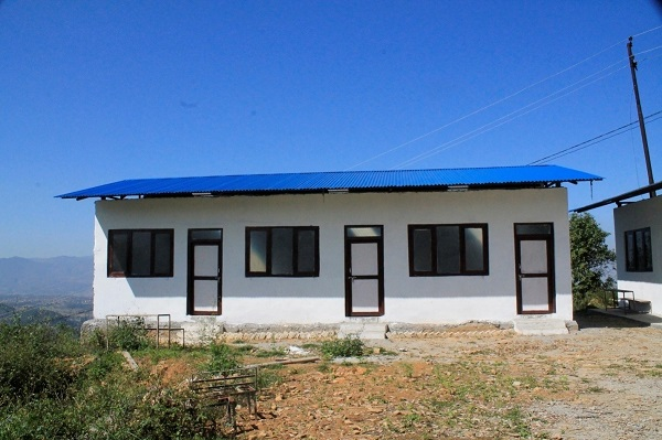 New school building of Tulasha Primary School