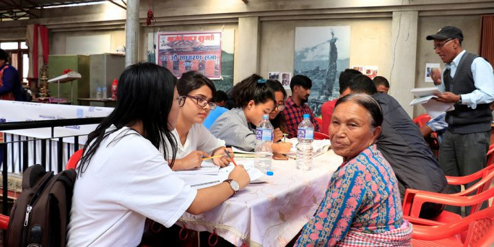 Pioneer Municipal Drawing Camp in Nepal