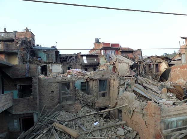 Itagol – a community of Kirtipur, one of the hard-hit old cities of Kathmandu