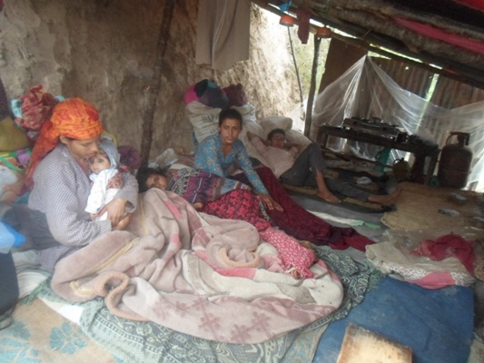 CIUD and Water Aid's effort in Nala VDC, Kavre district – 06 May 2015