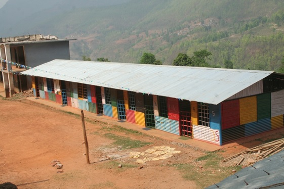 CIUD Collaborated with Action Aid Nepal to Help Resume Schools Through the Construction of Temporary Learning Shelters