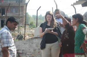 WaterAid UK Visits CIUD's Project Sites at Kavre