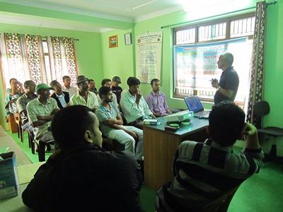 Village Maintenance Worker Training at Nala