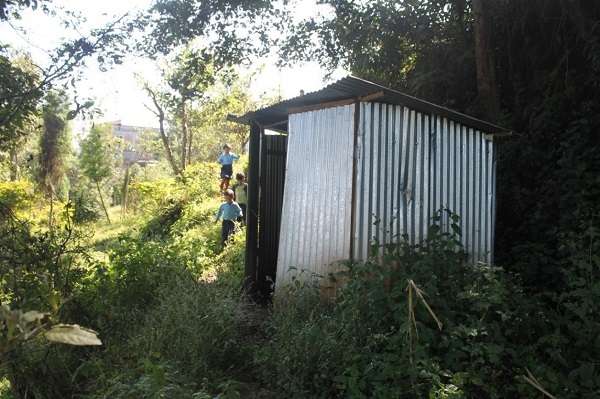 Return of Joy: Having access to WASH facilities inside school !