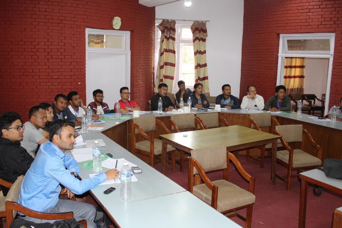 Engineers of Kathmandu Valley are trained on Masonry Building