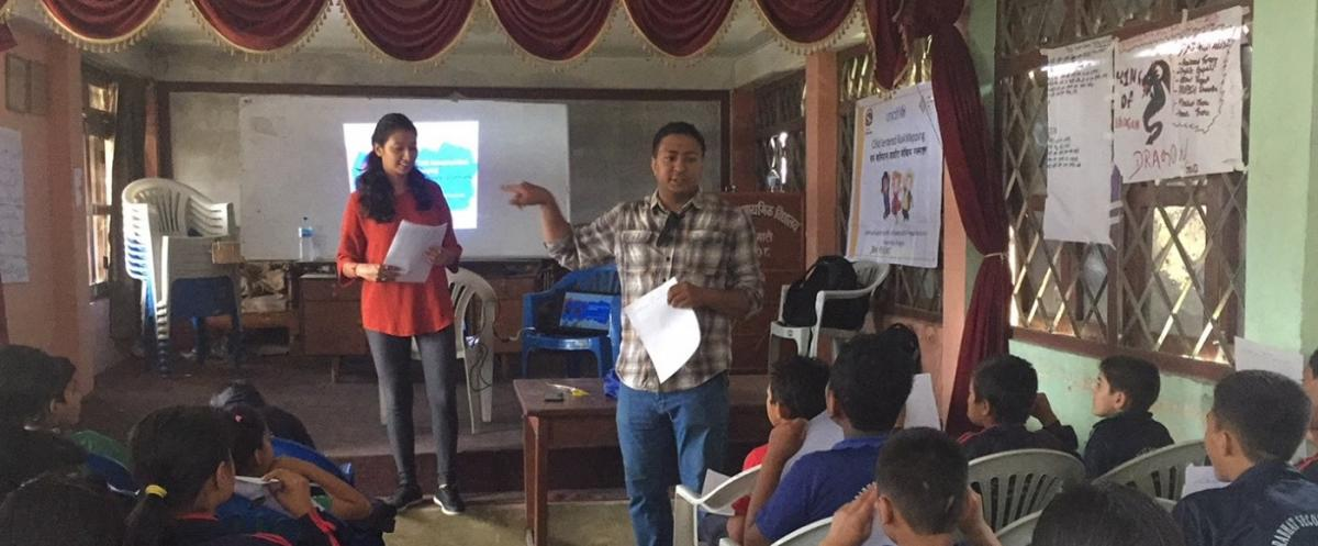 Learning Enthusiasm of Middle-aged School Children of Urban Core on Child Centered Risk Mapping (CCRM)