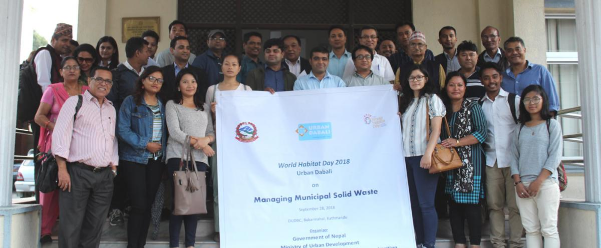Experts Pondered their Views on Municipal Waste Management in Urban Dabali